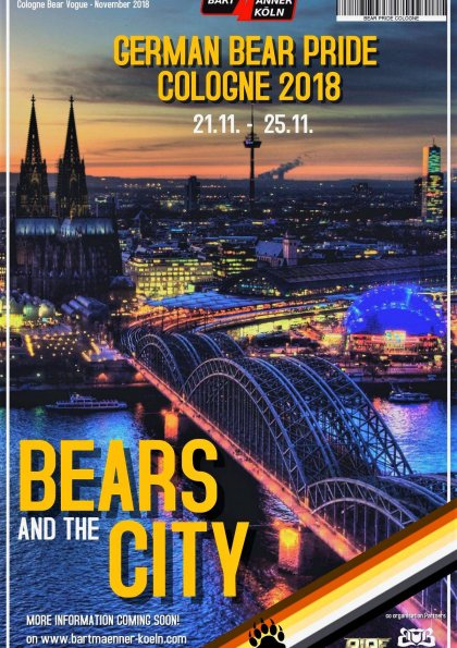 German Bear Pride Cologne 2018
