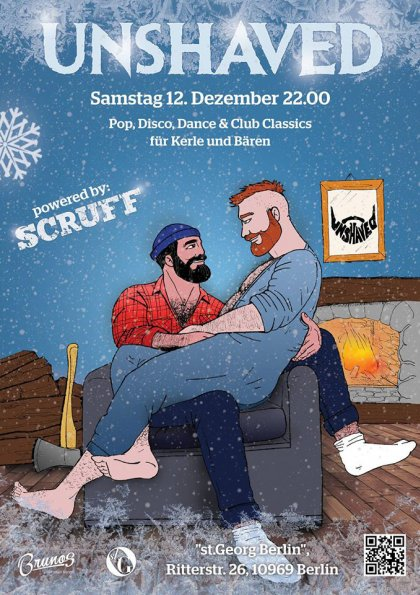 Unshaved - powered by Scruff Dezember 2015