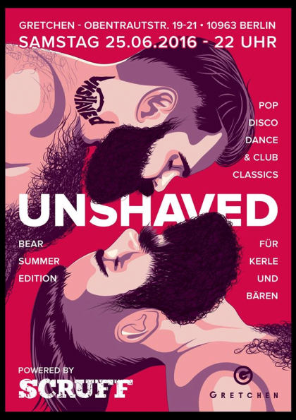Unshaved - powered by Scruff (Bear Summer Edition)