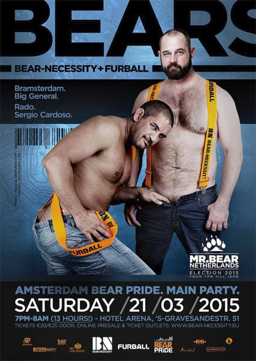 Amsterdam Bear Pride Main Party 2015