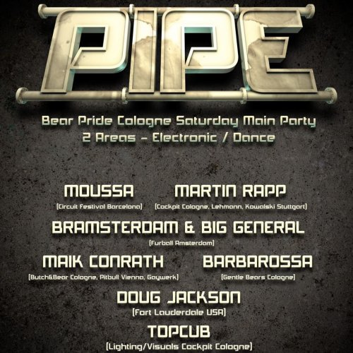 PIPE - Men Only Party 2016