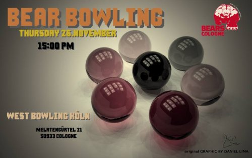Bear Pride Cologne 2014 - Bear Bowling