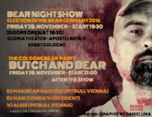 Bear Pride Cologne 2014 - BUTCH AND BEAR THE SHOW.jpg