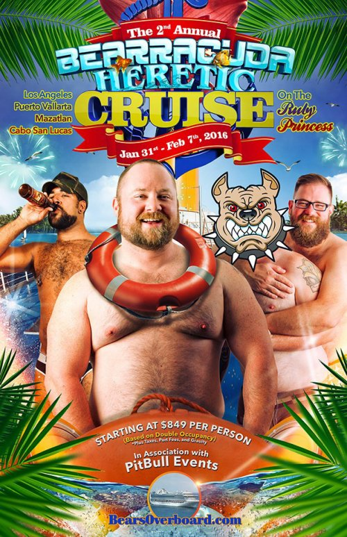 Bearracuda Heretic Cruise 2016