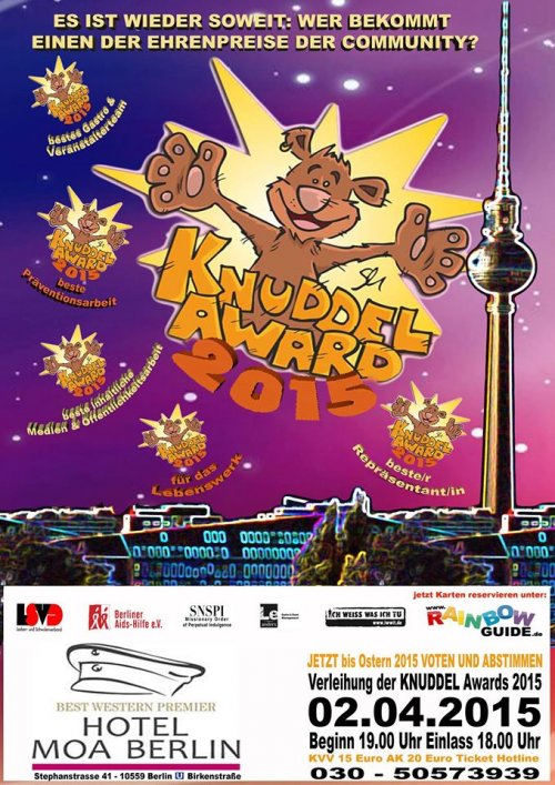 KNUDDEL Award 2015 Ostern in Berlin