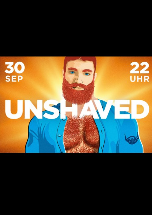 Unshaved September 2017 - powered by Scruff