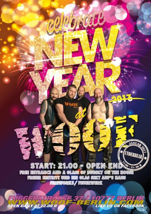Woof Berlin New Years Eve 2016-2017