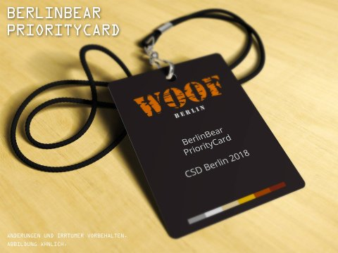 BerlinBear - PriorityCard