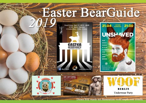 Easter BearGuide 2019