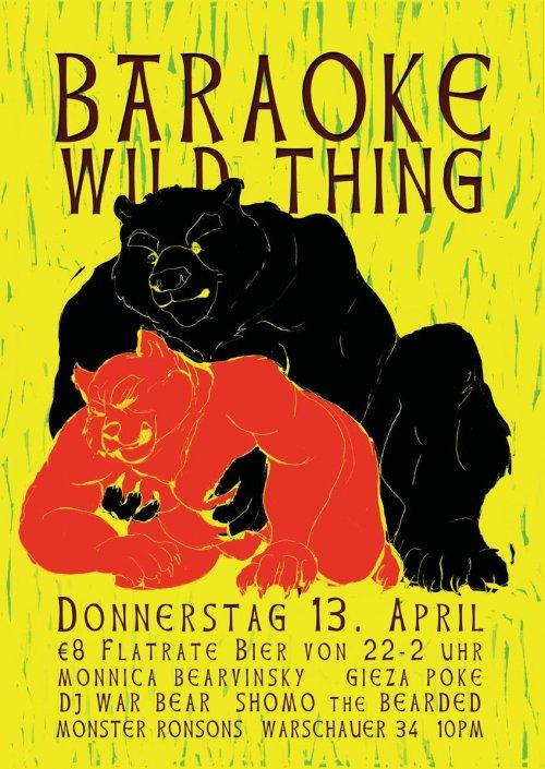 Bäraoke: Wild Thing!