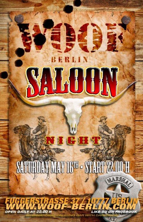 Woof Berlin Saloon Night